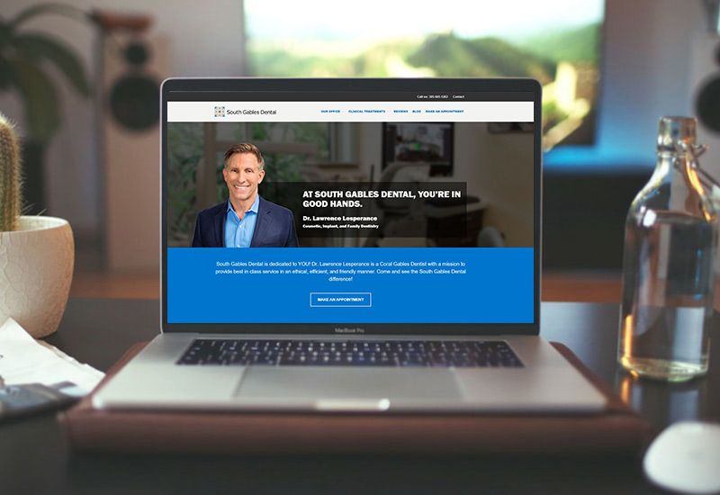 new-dental-website-design